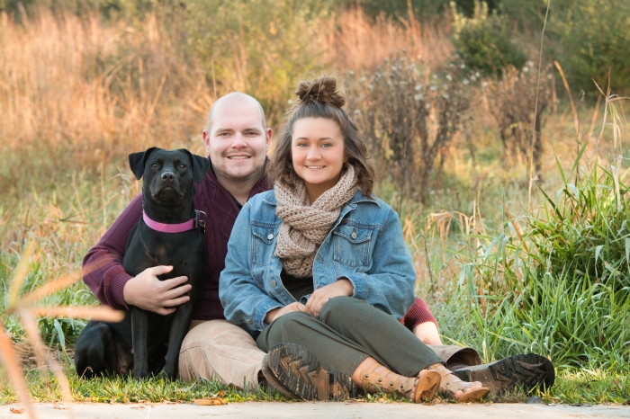 omaha, portrait, photography, portrait photographers, couples, love, wedding, fall, outside, colors, family, dogs, pets